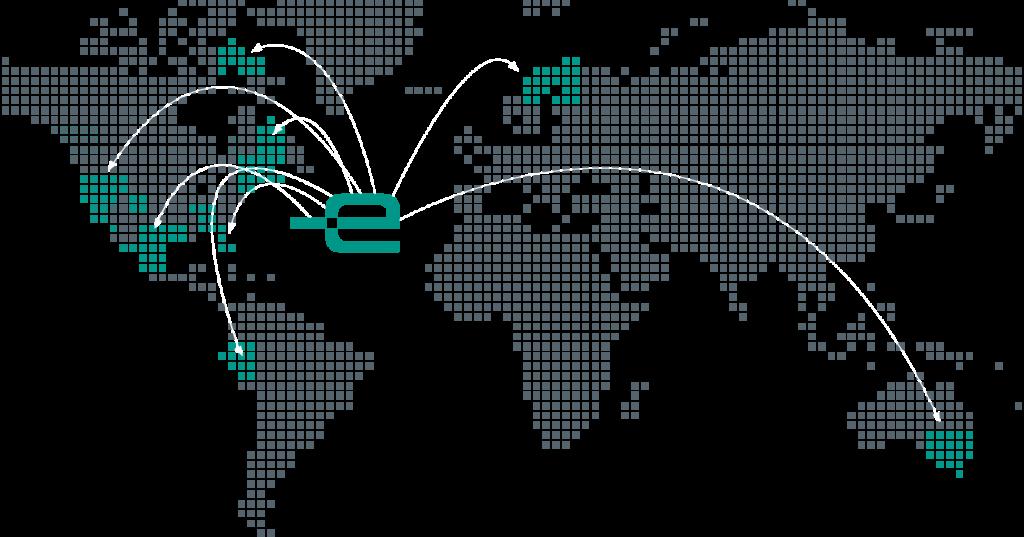 Efferent global footprint